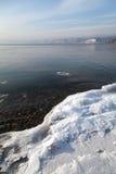 贝加尔湖的本质 免版税图库摄影