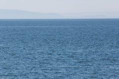 在湖的水风景 图库摄影