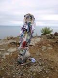 贝加尔湖风景 免版税库存图片