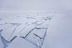 贝加尔湖,镇压 冰川 33c 1月横向俄国温度ural冬天 库存图片