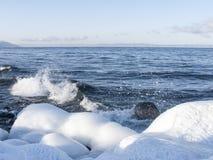 贝加尔湖 库存照片