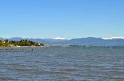 加尔达湖,意大利 库存图片