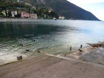 加尔达湖, Lago di加尔达 库存照片