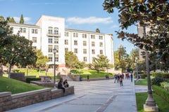 加州大学洛杉矶分校学校公寓 免版税库存图片