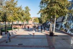 加州大学洛杉矶分校学校公寓 图库摄影