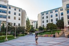 加州大学洛杉矶分校学校公寓 库存图片