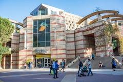 加州大学洛杉矶分校校园书店 免版税库存照片