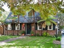 加州有历史的房子jose ・圣 免版税图库摄影