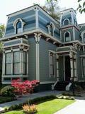 加州有历史的房子jose ・圣 免版税库存图片