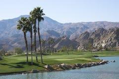 加州路线西方高尔夫球的pga 免版税库存图片