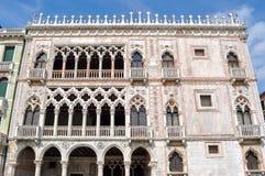 加州d ` Oro宫殿,威尼斯,意大利 免版税图库摄影