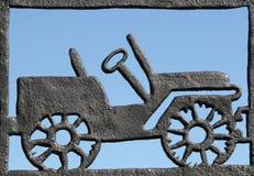 加工汽车的铁 免版税库存照片
