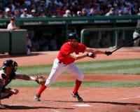 加布Kapler,外野手波士顿红袜 免版税图库摄影