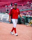 加布Kapler,波士顿红袜 图库摄影