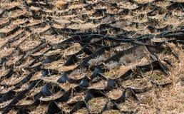 加强地球倾斜被猛击的橡胶 倾斜的Geolattice 免版税图库摄影