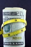 加强预算值/通货膨胀 库存照片