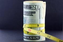加强预算值/通货膨胀 免版税库存图片