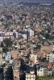 加德满都尼泊尔谷 免版税库存照片