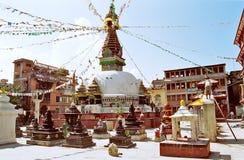 加德满都尼泊尔 库存照片