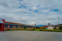加德满都,尼泊尔, 2017年11月02日:基础设施在特里布万国际机场-加德满都 图库摄影
