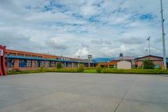 加德满都,尼泊尔, 2017年11月02日:基础设施在特里布万国际机场-加德满都 免版税库存照片