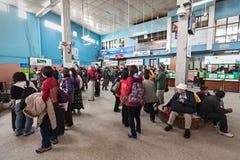 加德满都机场内部 免版税库存图片