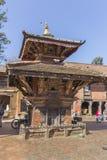 加德满都Changu纳拉扬Kileshwor寺庙 库存照片