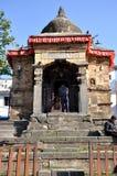 在加德满都Durbar广场的Kotilingeshvar寺庙 免版税库存照片