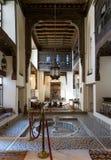 更加快乐的安徒生议院, 17世纪历史的房子舞厅  库存图片