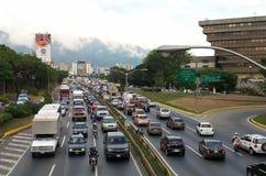 加拉加斯。 委内瑞拉的首都 免版税库存图片