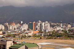 加拉加斯地平线。委内瑞拉 免版税库存照片