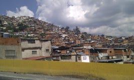 加拉加斯西班牙语人聚居的区域委内瑞拉 免版税库存照片