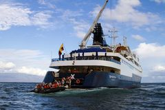 加拉帕戈斯巡航 免版税库存照片