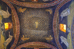 加拉・普拉西提阿陵墓  库存图片