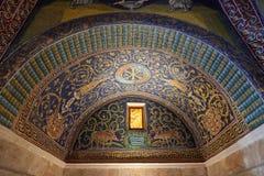 加拉・普拉西提阿陵墓  免版税库存照片