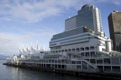 加拿大中心常规位置贸易温哥华 免版税库存图片
