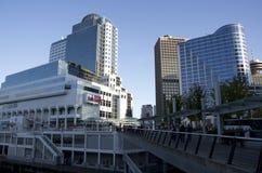 加拿大中心常规位置贸易温哥华 库存照片