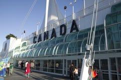 加拿大中心常规位置贸易温哥华 图库摄影