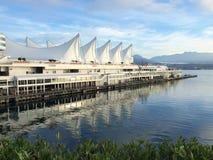 加拿大中心常规位置贸易温哥华 免版税库存照片