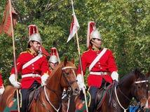 加拿大人军队Strathcona的Horse Regiment阁下 库存照片