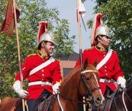加拿大人军队Strathcona的Horse Regiment阁下 图库摄影