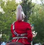 加拿大人军队Strathcona的Horse Regiment阁下 免版税库存图片