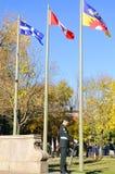 加拿大人战士 免版税库存图片