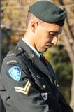 加拿大人战士 免版税图库摄影