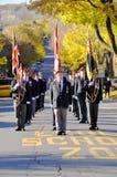 加拿大人战士 免版税库存照片