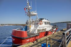 加拿大人海岸卫队 免版税库存图片