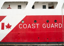 加拿大人海岸卫队 图库摄影