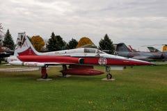 加拿大人的CF-5/CF-116自由战斗机 图库摄影