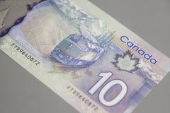 加拿大人10美元 免版税库存照片