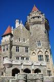 加拿大住处城堡loma多伦多 库存照片